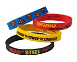 American Greetings Superman Rubber Bracelets (4 Count)