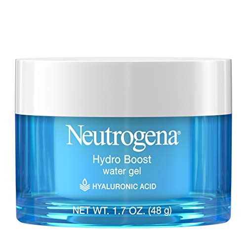 Neutrogena Hydro Boost Hyaluronic Acid Hydrating Water Gel Daily Face Moisturizer for Dry Skin, Oil-Free