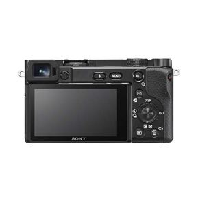 Sony-a6100-Mirrorless-Camera-4K-APS-C-ILCE-6100LB-with-16-50mm-F35-56-OSS-Lens-Kit-and-Deco-Gear-Case-Extra-Battery-Flash-Wide-Angle-Telephoto-Lens-Filter-Kit-64GB-Accessories-Bundle