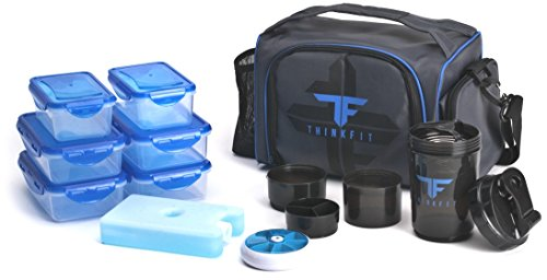ThinkFit Insulated Lunch Boxes with 6...