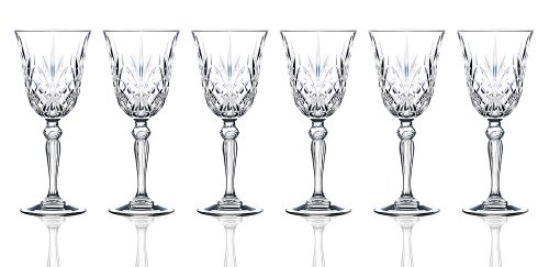 RCR Crystal Melodia Collection Wine Glass Set