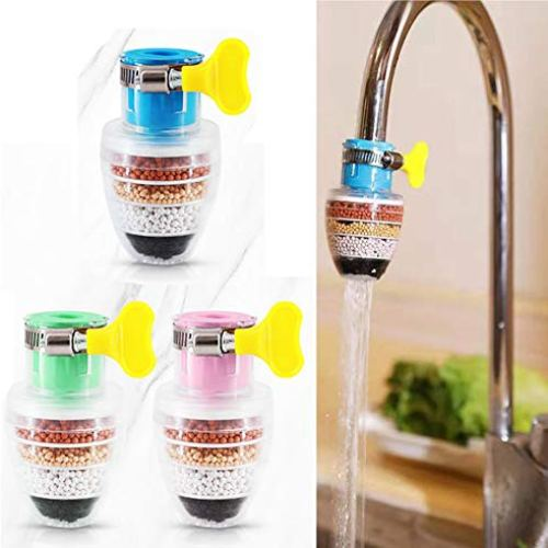 Kitchen Faucet 3 Pack Booster Shower Faucet Water Filters Water Purifier Faucet Kitchen Faucet Water FilterScalable…