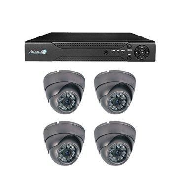 Caméra sécurité Atlantic's cambriolage maison appartement
