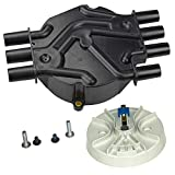 Bravex Ignition Distributor Cap & Rotor Kit Fits D328A 10452458 DR475 Olds Chevy GMC Pickup Truck SUV Van 4.3L V6
