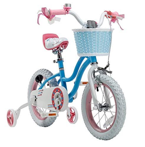 Stargirl Girl's Bike, 18 inch Wheels, Blue