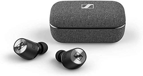 Sennheiser Momentum True Wireless 2 – Bluetooth Earbuds with Active Noise Cancellation, Smart Pause, Customizable Touch Control and 28-Hour Battery Life – Black