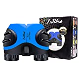 Luwint 8X 21 Binoculars for Kids Bird Watching, Watching Wildlife or Scenery, Game, Safari, Fishing, Mini Compact and Image Stabilized (Blue)