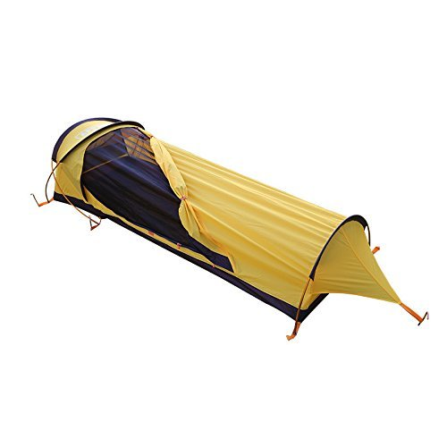 CreHouse Ultralight Camping 1-Person Waterproof BIVY Tent with Backpacking Bag For Camping, Hiking, Hunting