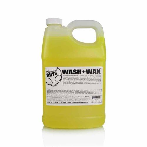 Chemical Guys CWS_102 Wash and Wax Car Shampoo with Gloss (1 Gal)
