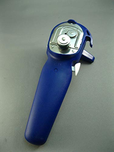 Pampered Chef Smooth Edge Can Opener Cobalt Blue