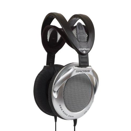 Koss UR40 - Audífonos (Circumaural, Diadema, 3.5 mm (1/8 '), Negro, Plata, 15 - 22000 Hz, Abrir)