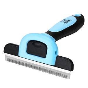 Pet Neat Pet Grooming Brush Effectively Reduces Shedding by Up to 95% Professional Deshedding Tool for Dogs and Cats 1