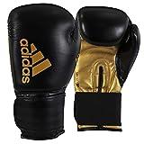adidas Hybrid 50 Boxing Gloves Black/Gold 14 oz