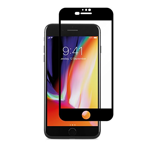 Moshi iVisor AG - Anti-Glare Screen Protector for iPhone 8 Plus / 7 Plus (Black)