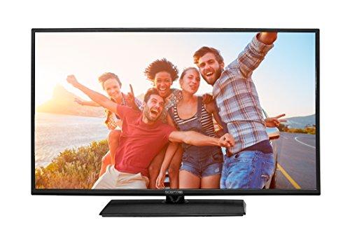 SCEPTRE 40' LED Class 1080P HDTV with ultra slim metal brush bezel, 60Hz, Built-in Digital Tuner X405BV-F