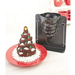 3 d christmas tree cake mold 8 x 5 12 amazoncom - Christmas Cake Decorations Amazon