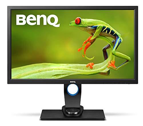 BenQ SW2700PT 27 inch QHD IPS Photography Monitor, 99% Adobe RBG, Shading Hood, Hockey Puck, Hardware Calibration