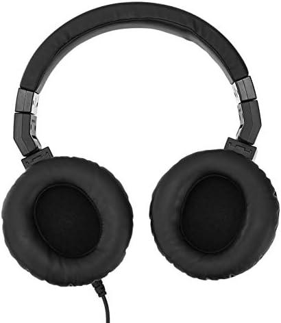 Amazon Basics Over-Ear Studio Monitor Headphones - Black 13