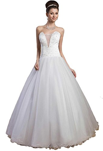 61Kvu4KbbiL Tulle wedding dresses Built-in bra. Dry clean only. Custom-made, Color-change Available