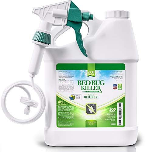 Eco Defense Bed Bug Killer, Natural Organic Formula Fastest (1 Gallon)
