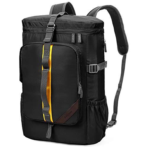 41yuYWSIz1L - AirCase Explorer Laptop Backpack Rucksacks Bag for 13-Inch, 14-Inch, 15-Inch Laptop, 25L (Black)
