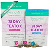 Skinny Mint 28 Day Ultimate Teatox, Couples Pack ( 2 Units ) by 28 Day Teatox Cleanse