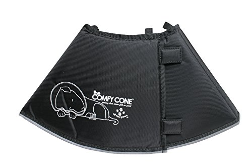 The Original Comfy Cone, Soft Pet Recovery Collar with Removable Stays,Medium 20 cm