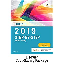 Buck's Step-by-Step Medical Coding, 2019 Edition – Text and Workbook Package