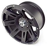 Rugged Ridge 15301.01 XHD Black Satin Wheel for Select Jeep Wrangler JK Models (17x9