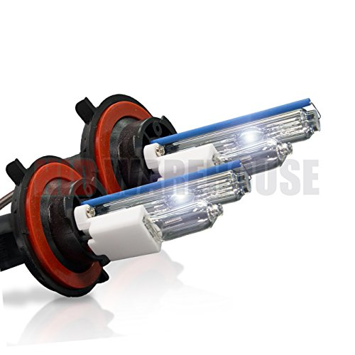 HID-Warehouse HID Xenon Replacement Bulbs - H13 / 9008 8000K - Medium Blue (1 Pair) - 2 Year Warranty