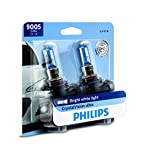 Philips 9005 CrystalVision Ultra Upgrade Bright White Headlight Bulb, 2 Pack