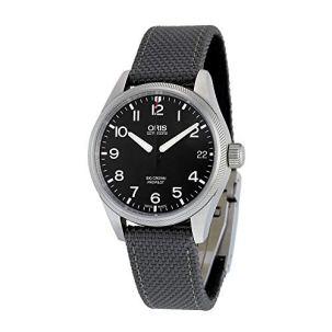 Oris Big Crown ProPilot Automatic Black Dial Grey Fabric Mens Watch 751-7697-4164GYFS