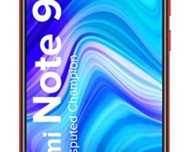 Redmi Note 9 (Arctic White, 4GB RAM, 64GB Storage) – 48MP Quad Camera & Full HD+ Display