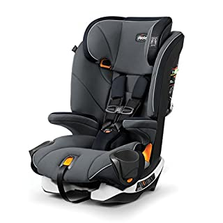 The Chicco MyFit Harness+Booster is a harness/belt-positioning car seat is designed to grow with children from toddler through big kid with easy transition from five-point harness to vehicle seat belt. Nine headrest positions accommodate growth throu...