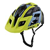 MONATA Mountain Bike Helmet - Adult MTB Cycling Bicycle Helmet with CPSC Certified(Green)