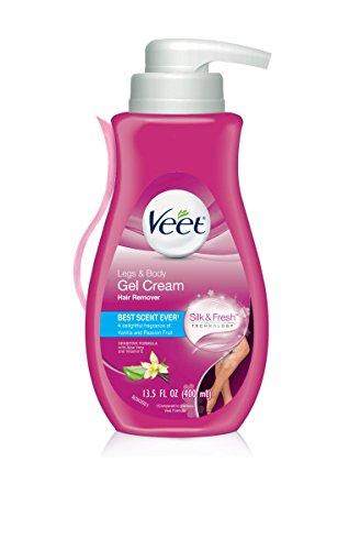 Veet Gel Hair Remover Cream, Sensitive Formula, 13.5 Ounce (Pack of 2)