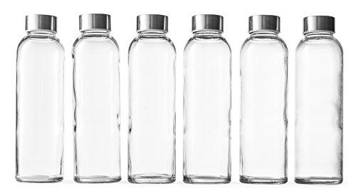 Epica 18-Oz. Glass Beverage Bottles, Set of 6