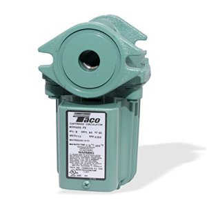 Taco 009-F5 Cast Iron High Velocity Cartridge Circulator Pump 41zK7dylAHL