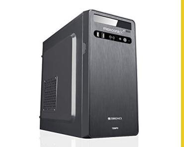 MAXCOREPC Speed MT5811 Intel Core i5 650 3.2Ghz Assembled Desktop PC CPU (8GB RAM/120GB SSD/1TB HDD/WiFi Ready/HDMI/Black)