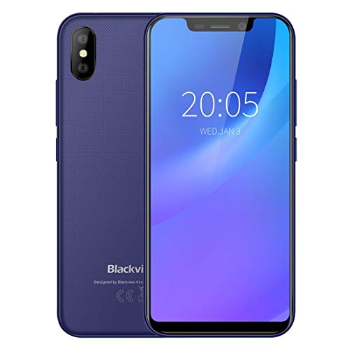 D siyuan [HK Stock Blackview A30 Mobile Phone, 2GB+16GB, Face ID...