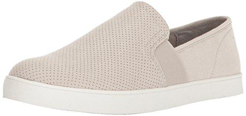 Dr. Scholl's Women's Luna Sneaker, Greige Microfiber Perforated, 8.5