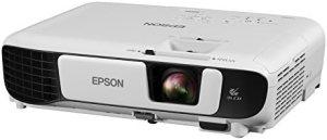 Epson EX5260 XGA 3,600 lumens color brightness (color light output) 3,600 lumens white brightness (white light output) wireless HDMI 3LCD projector