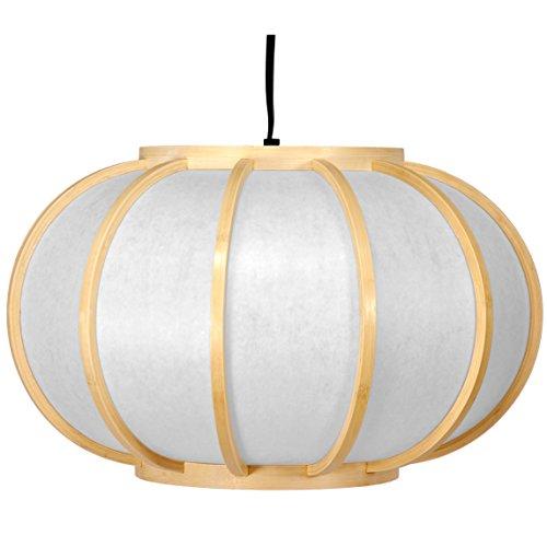 Oriental Furniture Harajuku Hanging Lantern - Natural