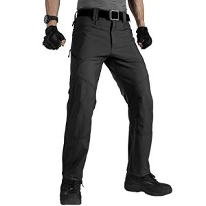 FREE SOLDIER Men's Military Tactical Pants Outdoor Nylon Ripstop Work Trousers with Zipper Pockets 19 Fashion Online Shop gifts for her gifts for him womens full figure