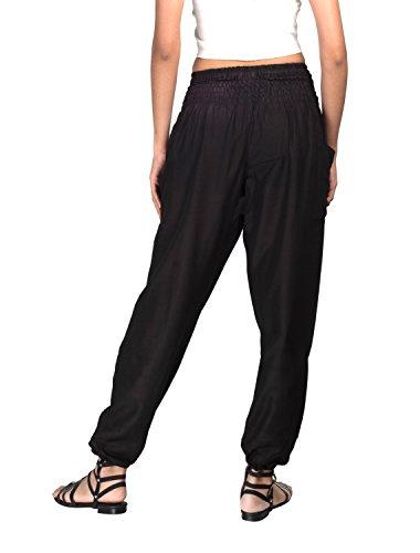 Black loose yoga pants