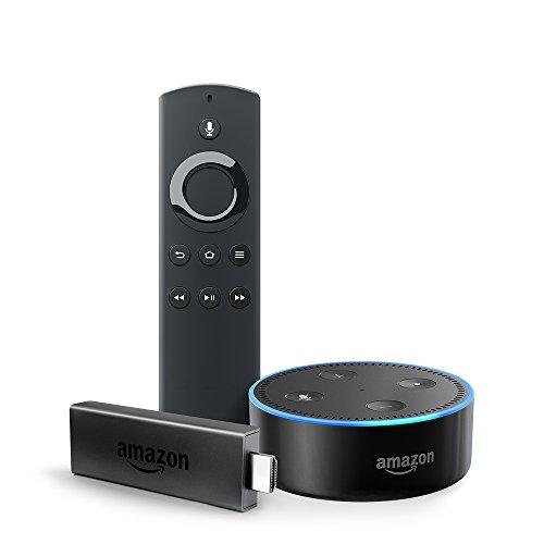 Fire TV Stick bundle with Echo Dot (2nd Gen) - Black