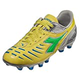 Diadora Women's Maracana L W Black/Flou Yellow 5 B US