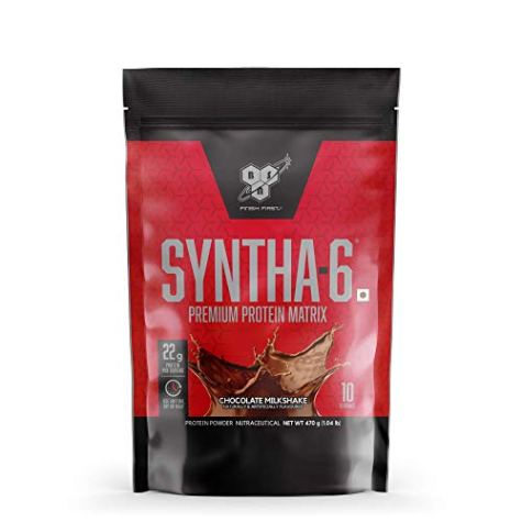 BSN Syntha 6 Protein Powder – 1 lbs, 470 g (Chocolate)