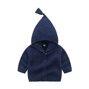 BCVHGD Winter Kids Warm Sweaters for Baby Girl Knitwear Tops Knitted Newborn Boys Jacket Coat Long Sleeve Children