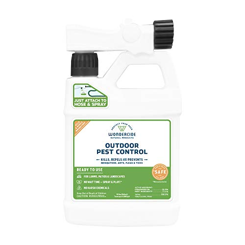 Wondercide Ready-to-Use Natural Outdoor Pest Control Spray - 32oz | Kills and Repels 100s of Insects